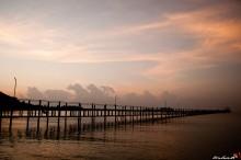 Пирс Чумпон / Чумпон на рассвете, Тайланд