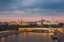 Москва. Кремль / На закате