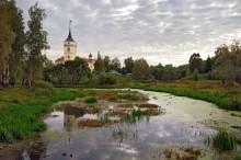 Мариенталь вечером... / Павловск, крепость Бип, Мариенталь