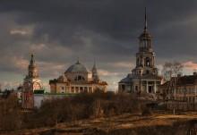 Монастырь. / Борисоглебский монастырь. г. Торжок.
