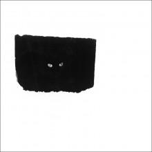 """""""Мера себя"""" / рабочее название """"чёрный квадрат кота"""""""
