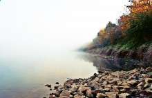 Туман на Днепре / Туманное утро