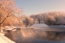 / зимний парк