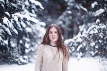 Зимний портрет Вероники / портрет