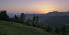 Закарпатские воспоминания... / Закатное время в окрестностях Пилипца...