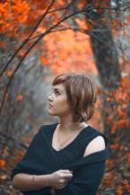 Осень золотітся / портрет