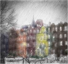 раскраска-улицы Бостона / ***