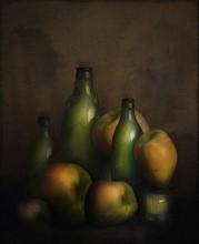 яблоки и бутылки / натюрморт