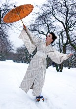Под зонтом / Фотосессия Самураи (японские мотивы)