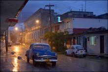 ... на улице Сьен- Фуэгоса / путешествие по Кубе