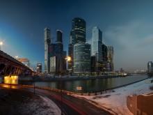 Вечерняя Москва / Бизнес-центр Москва-Сити