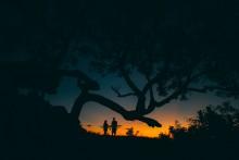 / закат, Бали, Индонезия