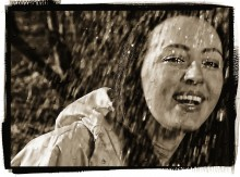 Дождь / Фотосессия в Сокольниках (15 марта 2015г)