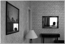 одиночество / отель, отражения