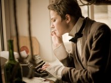 writer / в старом отеле...