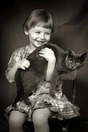 Дама с кошкой / Дама с кошкой
