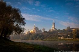 Рассветная тишина / Торжок, Борисоглебский мужской монастырь
