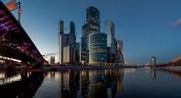 На набережной Тараса Шевченко / Деловой центр Москва-Сити