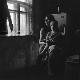 Портрет Лены с сыном /