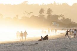 Перед закатом / Океанский пляж Сан Диего