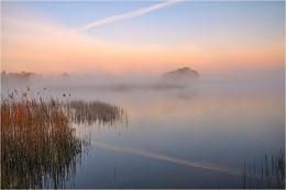 В начале мая / Раннее майское утро, озеро в д.Рудники Пружанского района