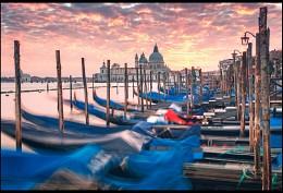 Вечерняя венецианская / Знатный закат удалось наблюдать, Венеция неожиданно понравилась и запомнилась!