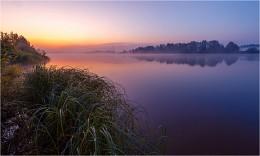 Предрассветная.. / Рассвет на реке Обва