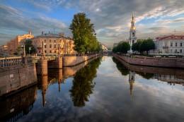 утром на Крюковом канале / Санкт-Петербург. 5.30 утра