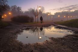 Щецинский туман / Щецин, Польша.