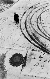 Следы на снегу. 1978 г. / ***