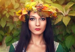 Осенний портретик Валерии / ***
