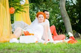 оранжевая постановка / Свадьба