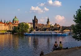Вечер на Влтаве / Прага, Влтава