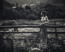 Покос / Из тура в Карпаты  фото: Аркадий Курта модель: Настя