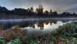 на реке / серия водоемы подмосковья река Москва верховье