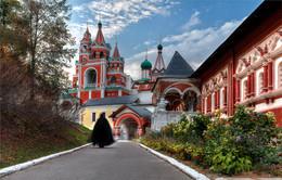 со службы / Саввино-сторожевский монастырь