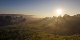 Рассвет,туман / Вспоминая август....