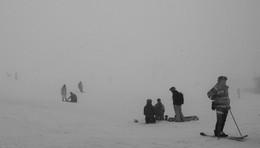 В горах туман... / Апрель 2015, Приэльбрусье.