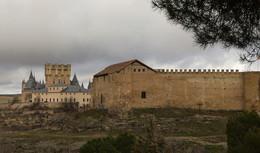 Сеговия / Вид на замок Алькасар