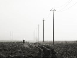 Одиночество / Рано утром осенним и морозным....