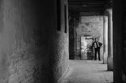 """Музыкант / Альбом""""Любовь моя,Венеция"""".Когда музыкант услышал,что мы русские...то начал играть""""Катюшу"""""""