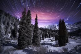 Осенняя ночь / Большое Алматинское Ущелье