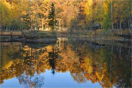 Осенний пруд / Осень. Пора листопада