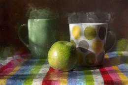 *чай с яблоком* / фотоимпрессионизм