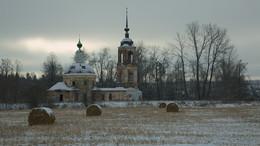 Село Павлухино. / Церковь Троицы Живоначальной