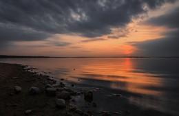 Последние отблески / Беларусь. Заславское водохранилище.