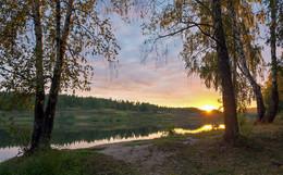 """Рассвет.. / Осенний """"золотой"""" рассвет!"""
