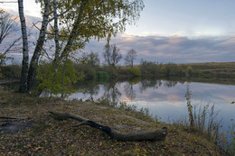 Рассвет.. / Рассвет на деревенском пруду в середине октября 2015...