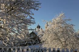 К нам вчера пришла зима... / Первый снег в декабре