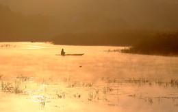 """Утро рыбака. / Из серии """" Мигеевские рыбаки."""" Река Южный Буг.Украина."""
